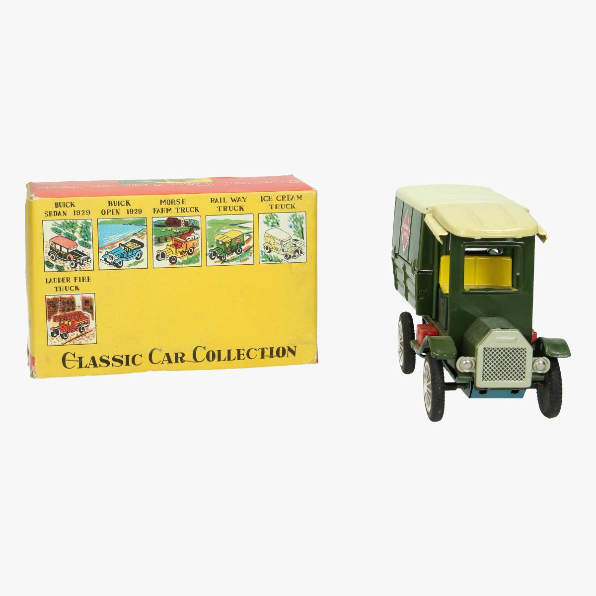 Afbeeldingen van rail way truck classic car collections made in japan