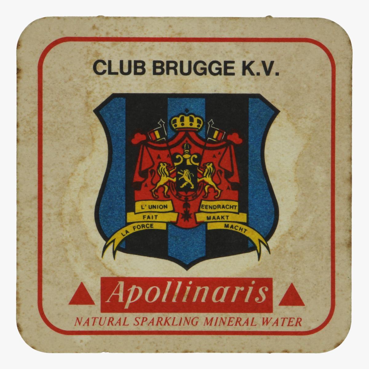 Afbeeldingen van bierkaartje club brugge k.v.