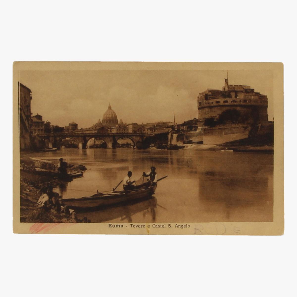 Afbeeldingen van Postkaart Roma - Tevere e Castel S. angelo