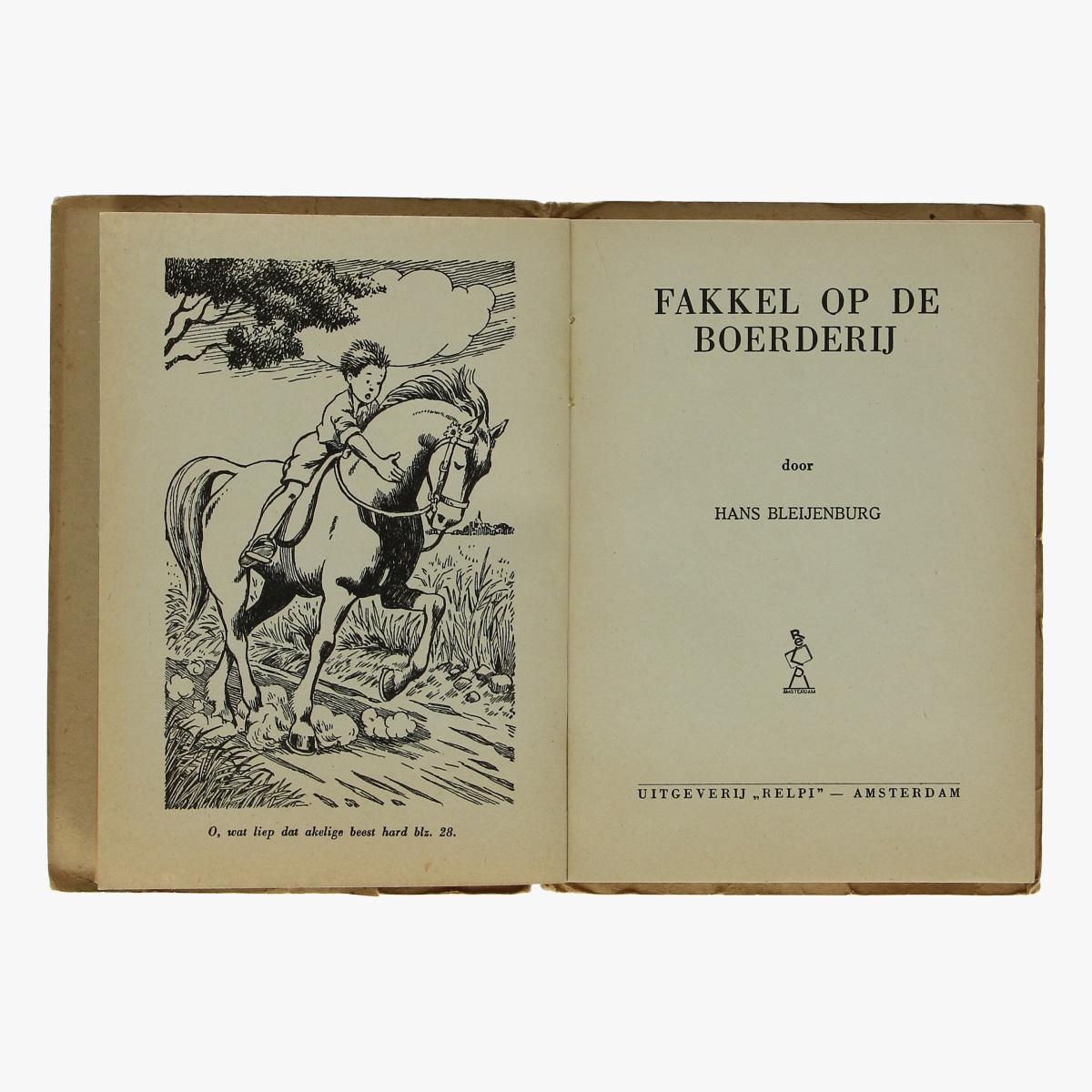 Afbeeldingen van boek fakkel op de boederij