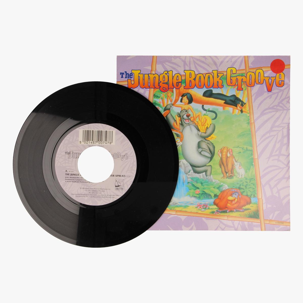 Afbeeldingen van The jungle book Groove LP 45 toeren