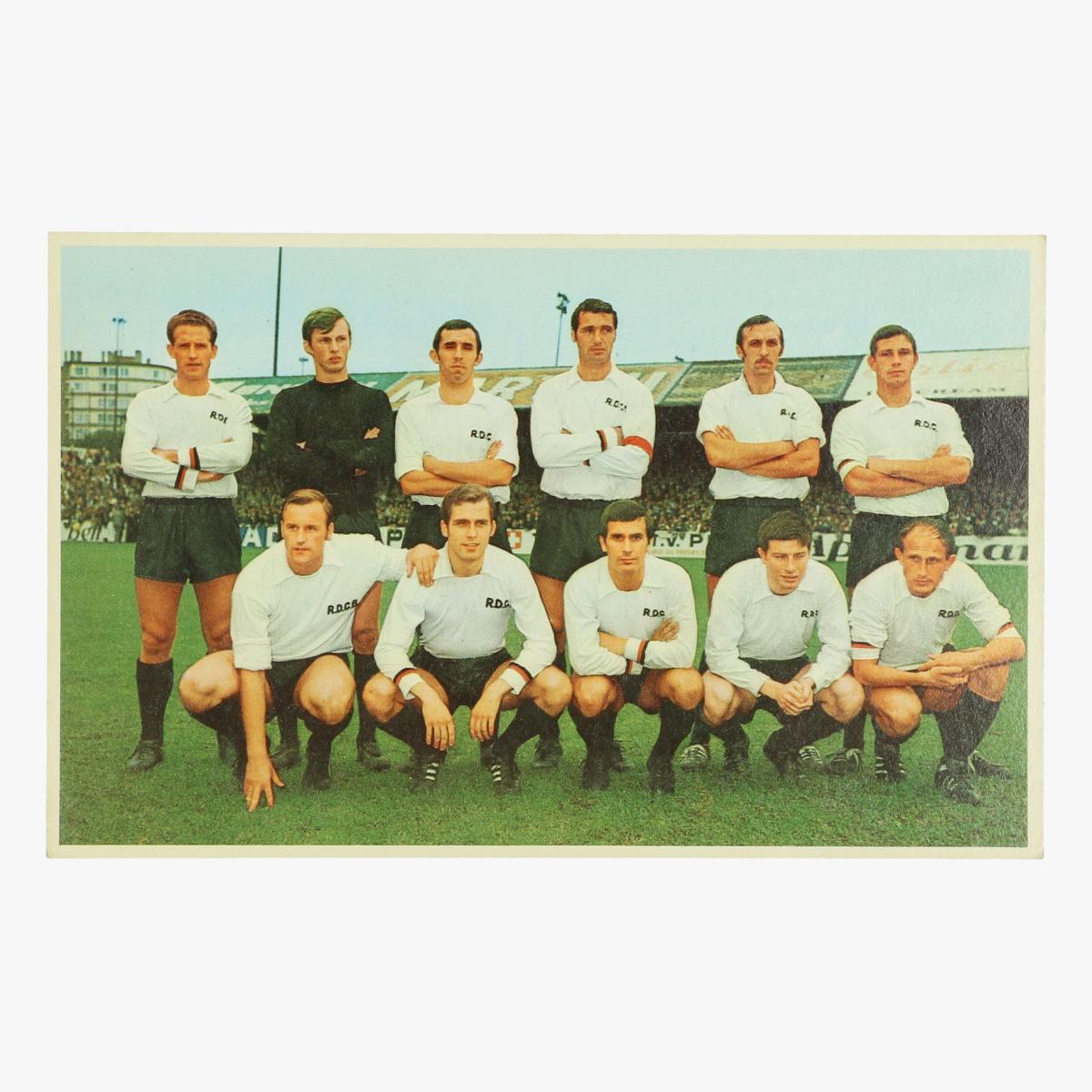 Afbeeldingen van oude postkaart voetbal daring