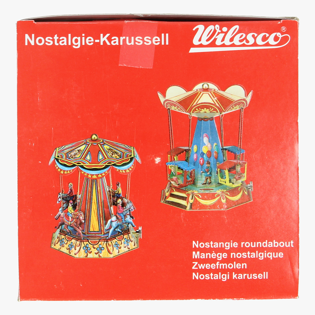 Afbeeldingen van blikken speelgoed nostalgie carrousel reprp wilesco
