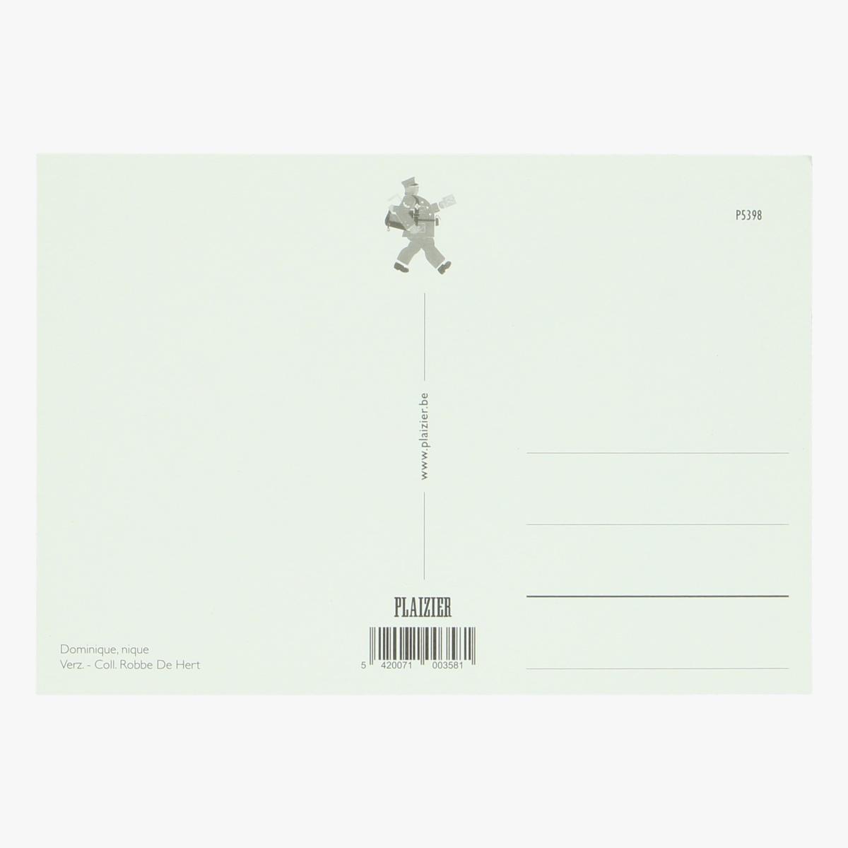 Afbeeldingen van postkaart dominique nique