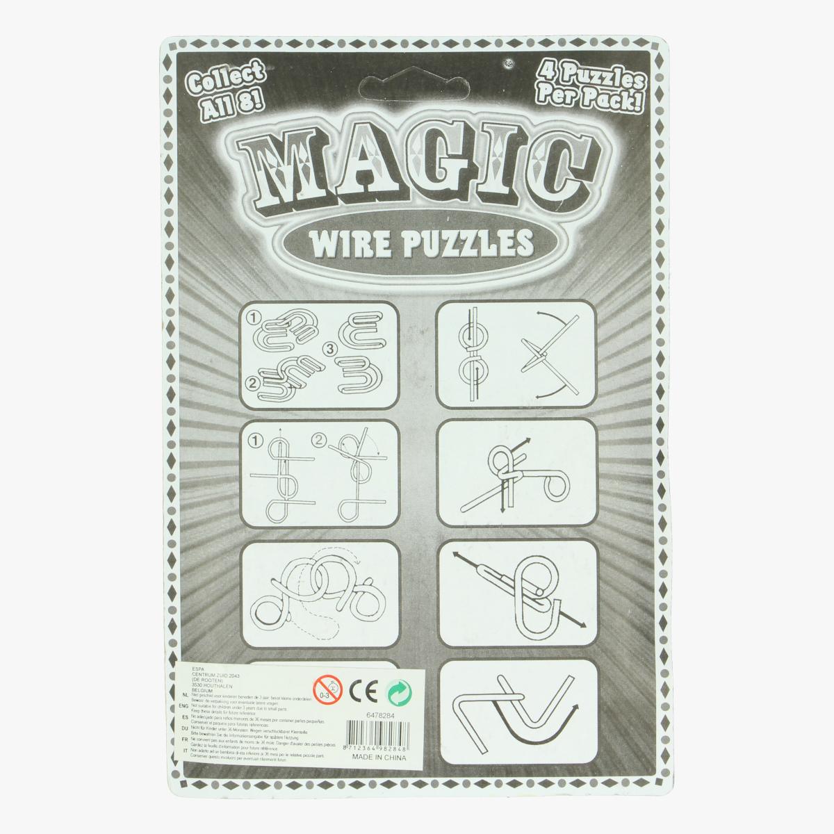 Afbeeldingen van Magic wire puzzles