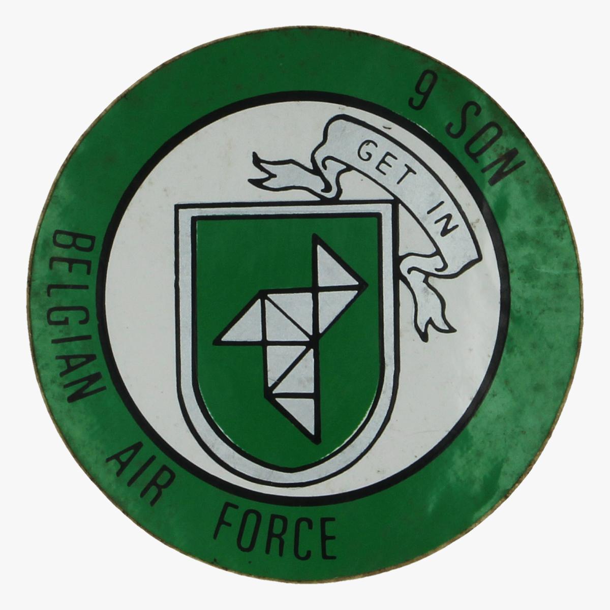 Afbeeldingen van sticker begian air force 9 squadron