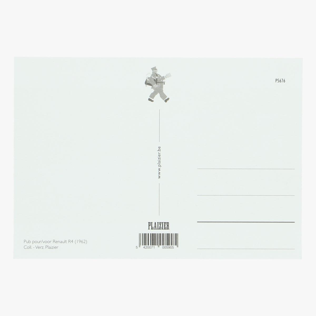 Afbeeldingen van postkaart Renault R4 (1962) repro