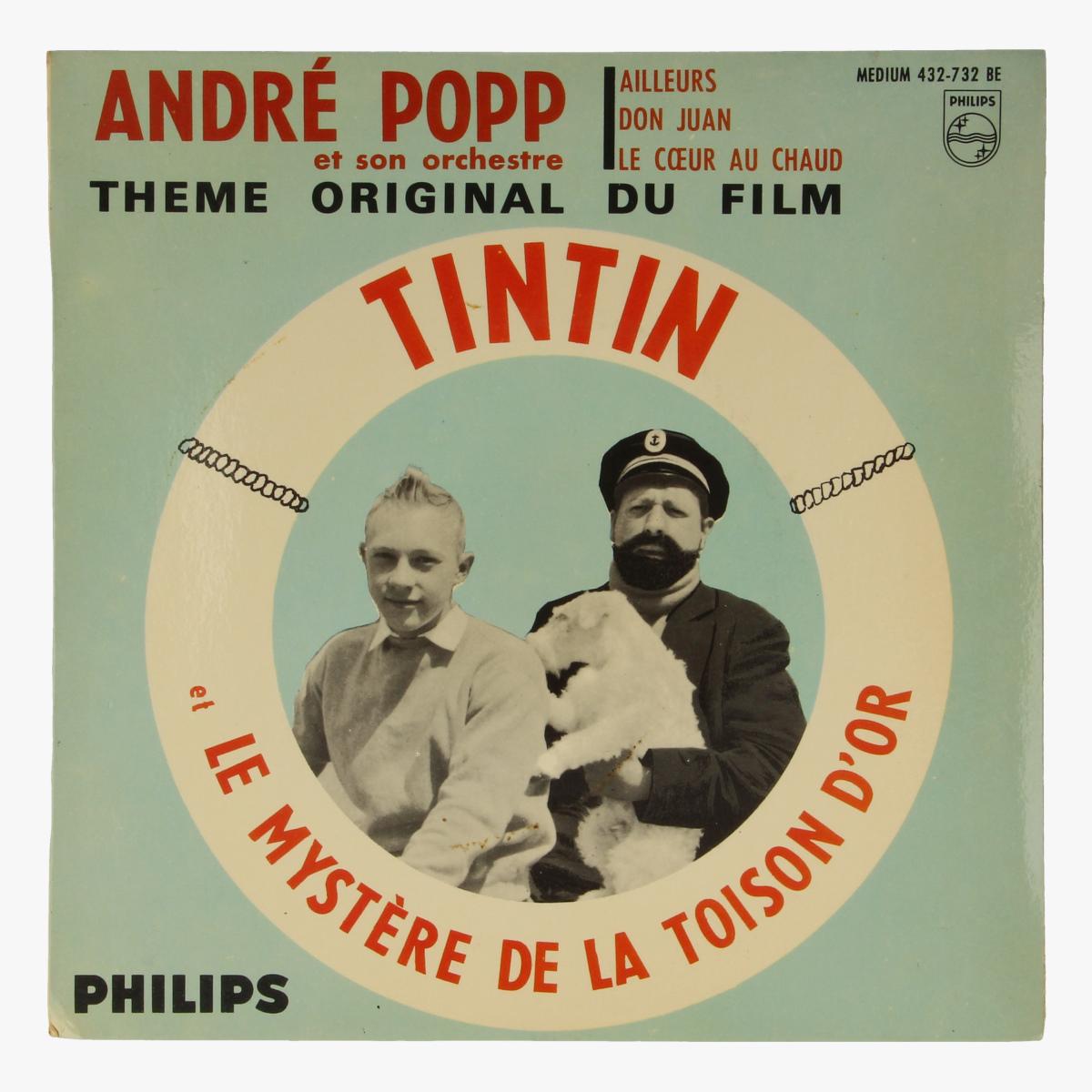 Afbeeldingen van Tintin et le Mystère de la toison d'or