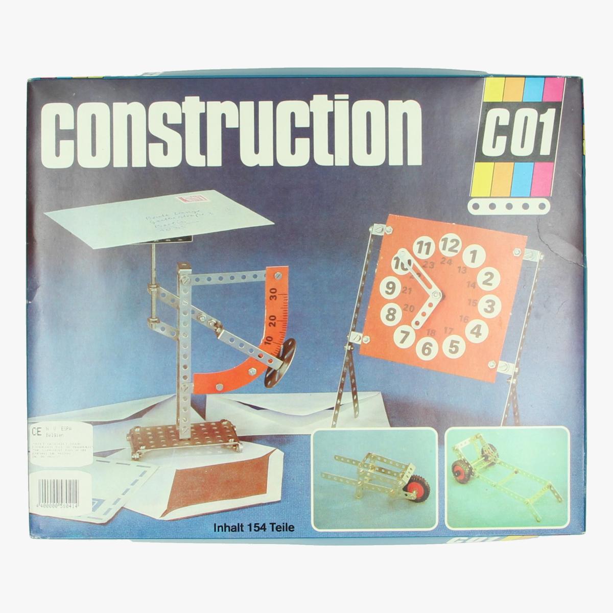 Afbeeldingen van Construction. VEB Spielwaren-Mechanik..