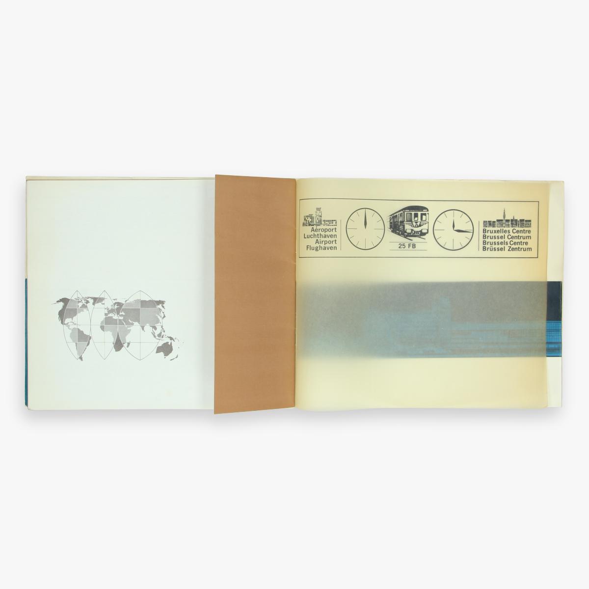 Afbeeldingen van sabena magazine- instructions- printed in belgium - de Rycker