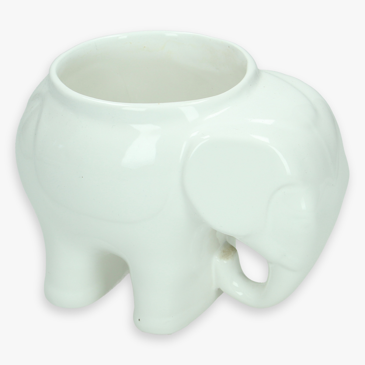 Afbeeldingen van porseleinen bloempot -  olifant