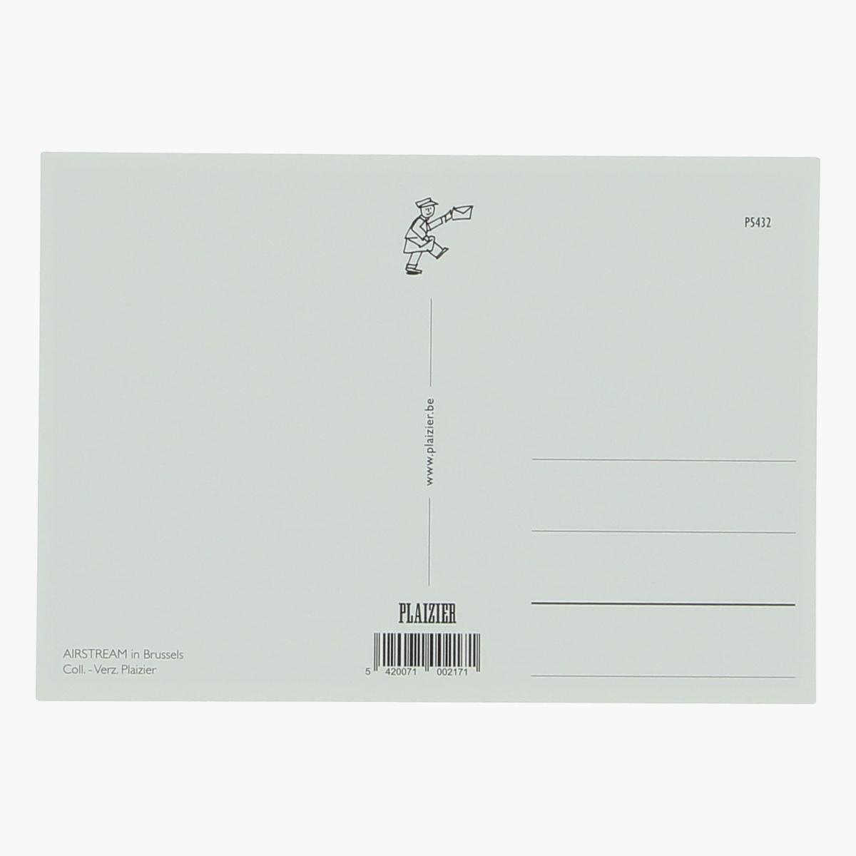 Afbeeldingen van postkaart airstream in brussel