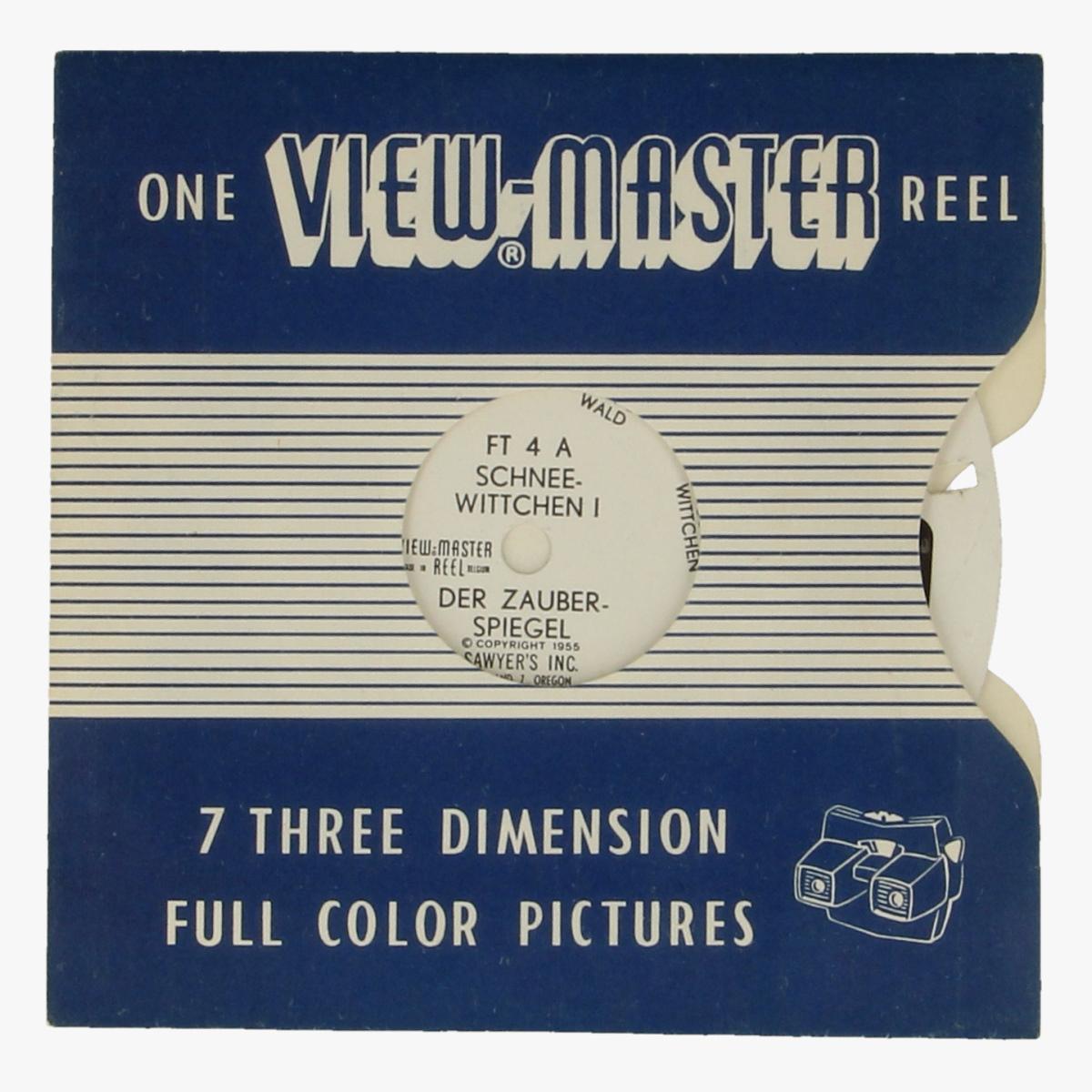Afbeeldingen van View-Master Schneewittchen nr. 1,2&3