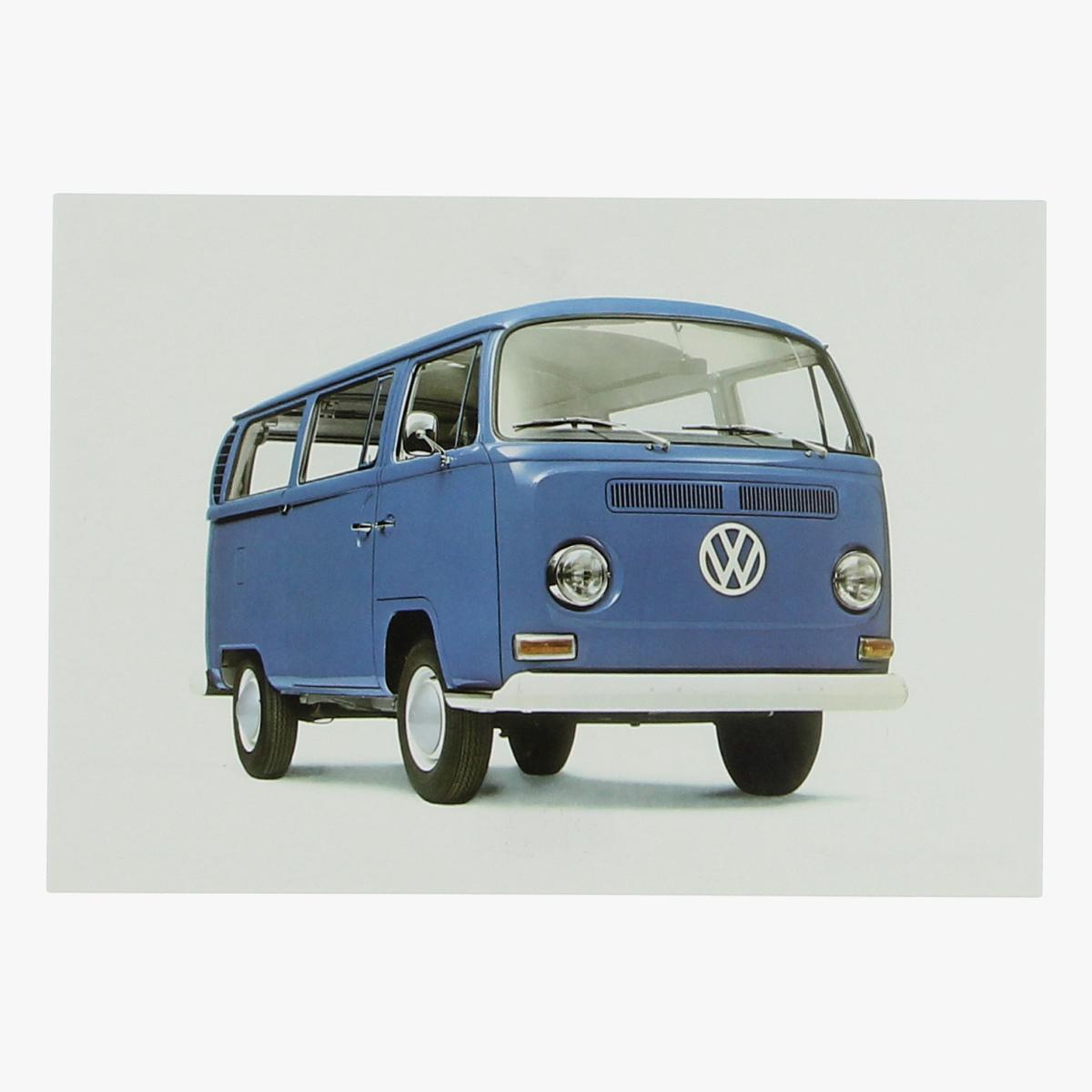 Afbeeldingen van postkaart volkswagen T2 1967 repro