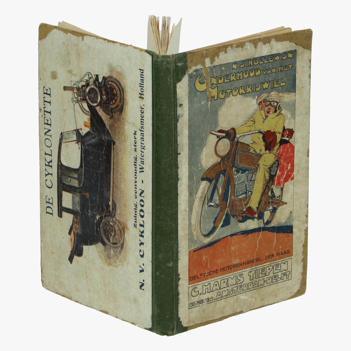 Afbeeldingen van Onderhoud van het Motorrijwiel. Boek. N.J.Kollewijn
