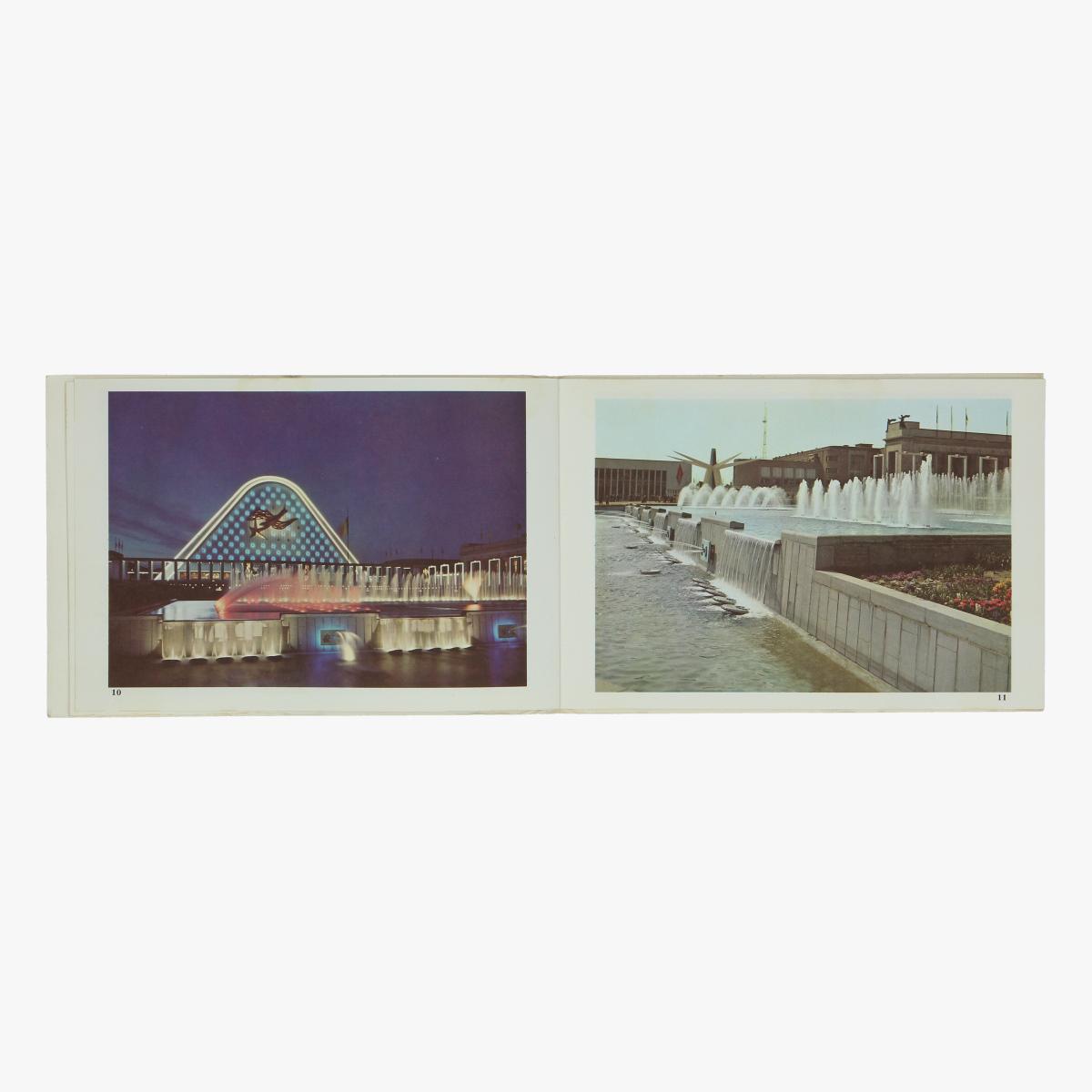 Afbeeldingen van expo 58 album souvenir