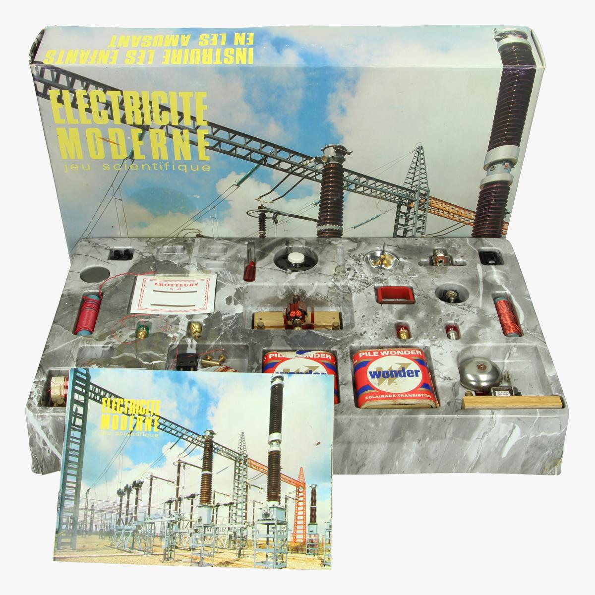 Afbeeldingen van Electricite moderne. Jeu scientifique