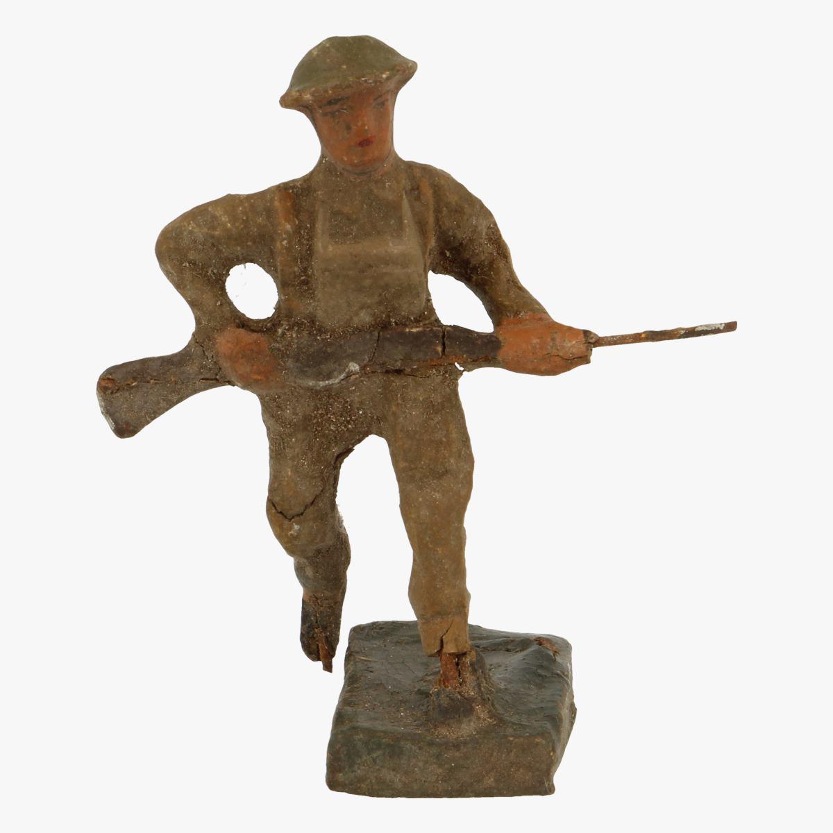 Afbeeldingen van elastolin soldaatjes made in belguim durso
