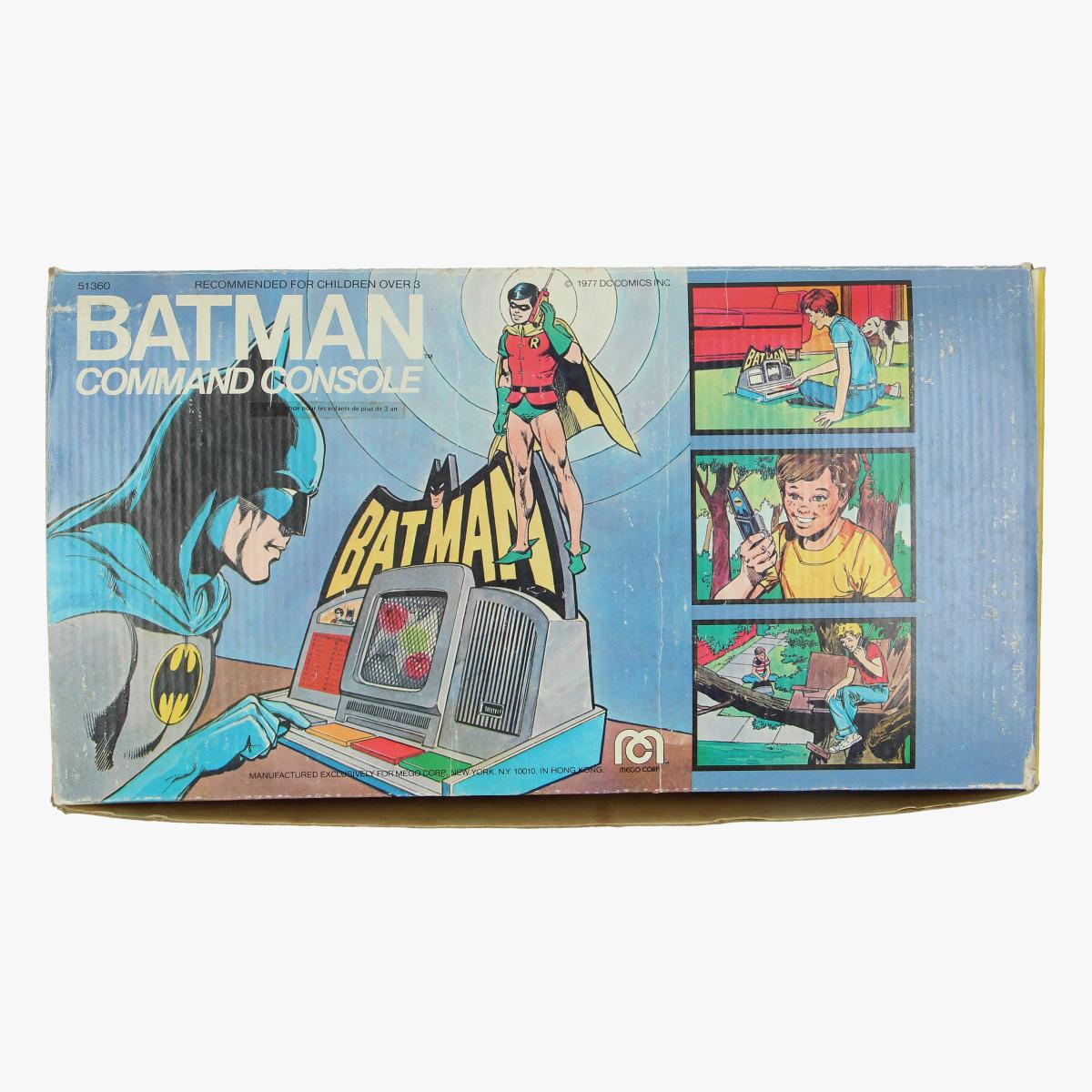 Afbeeldingen van batman command console