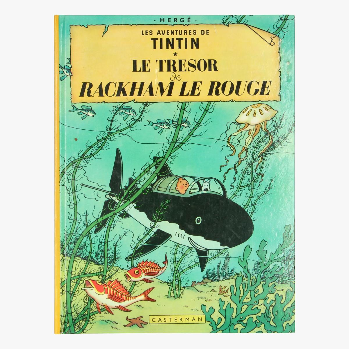 Afbeeldingen van Le tresor de rackham le rouge - Tin Tin - Kuifje