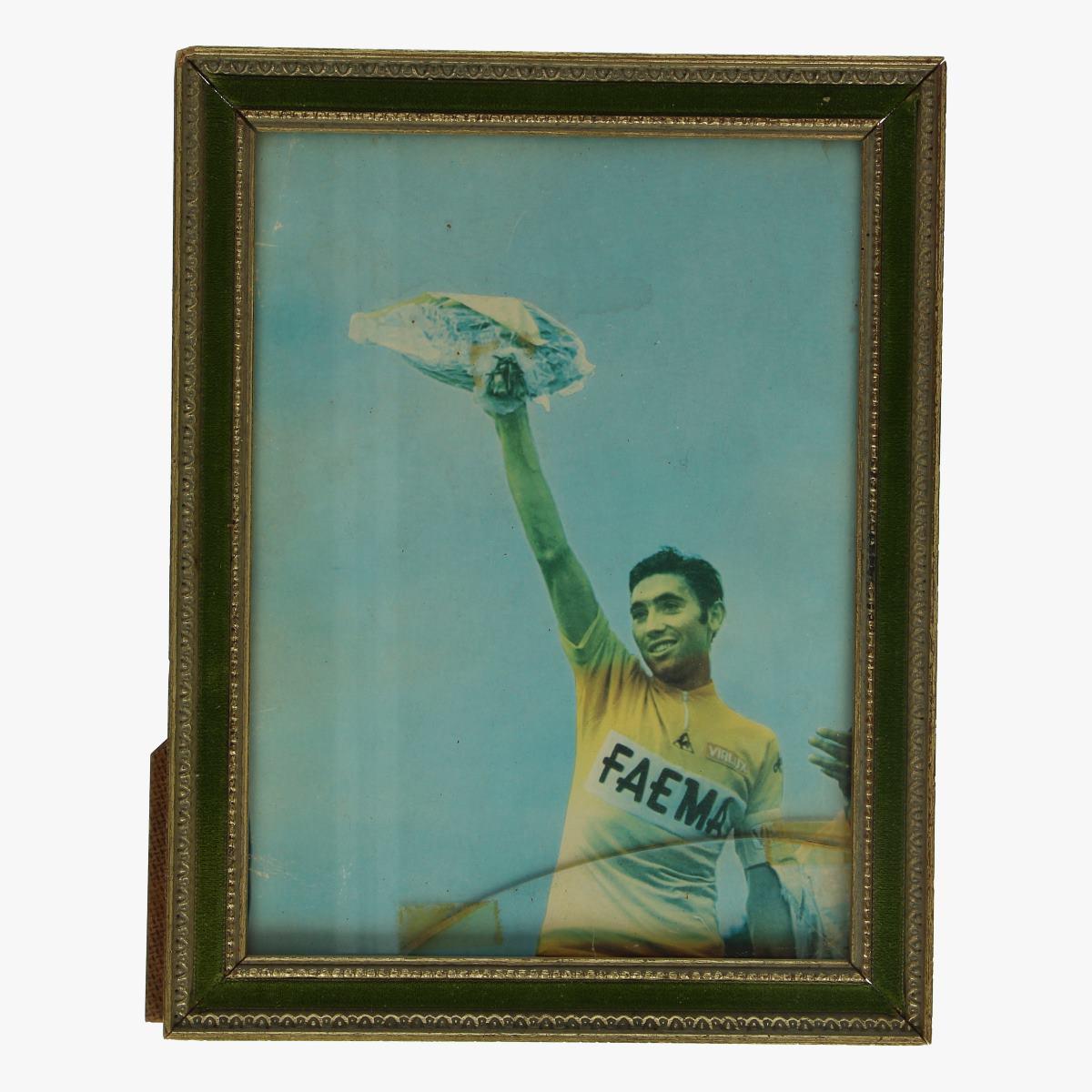 Afbeeldingen van wielrennen Oude kader Eddy merckx
