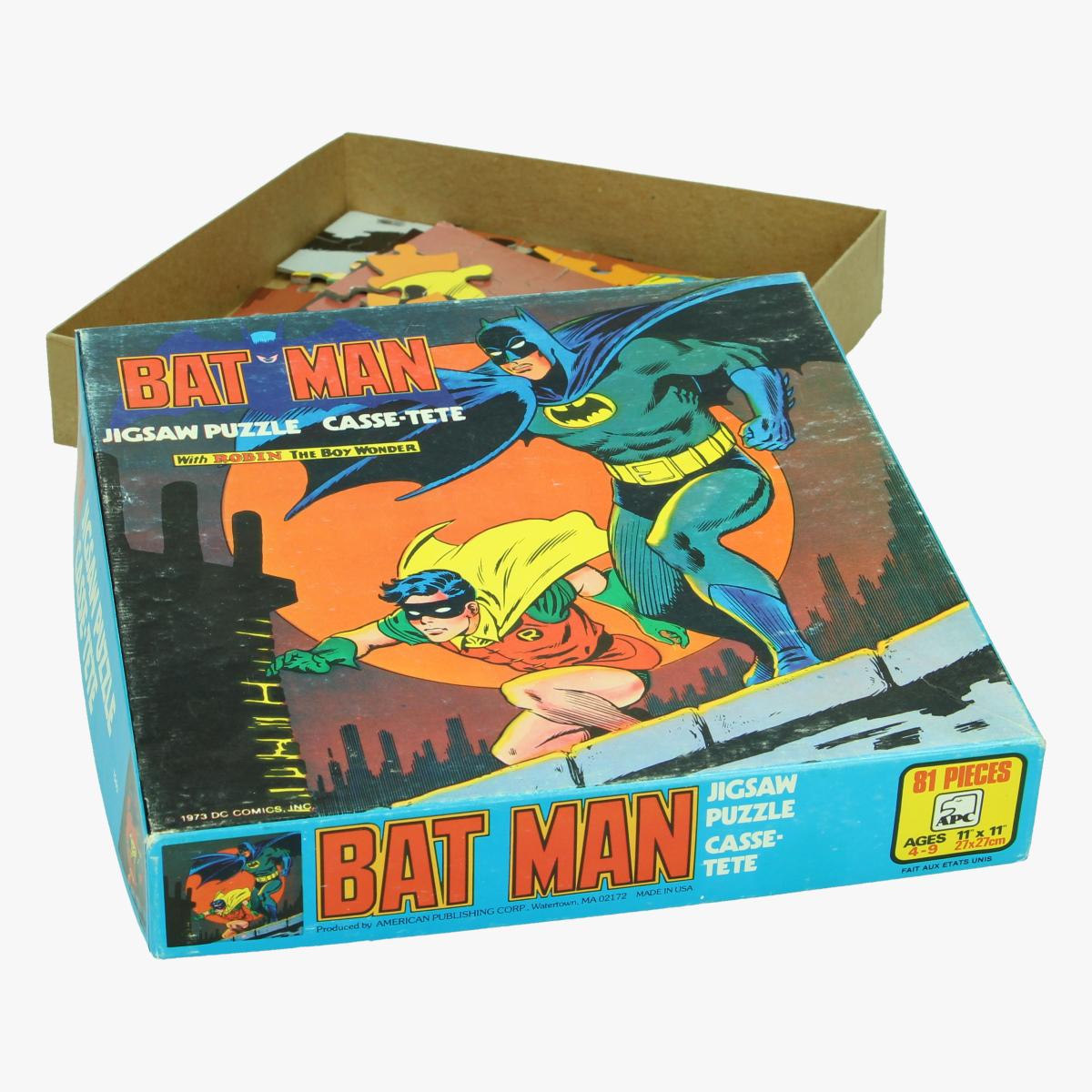 Afbeeldingen van Batman. Puzzel. with Robin the Boy wonder
