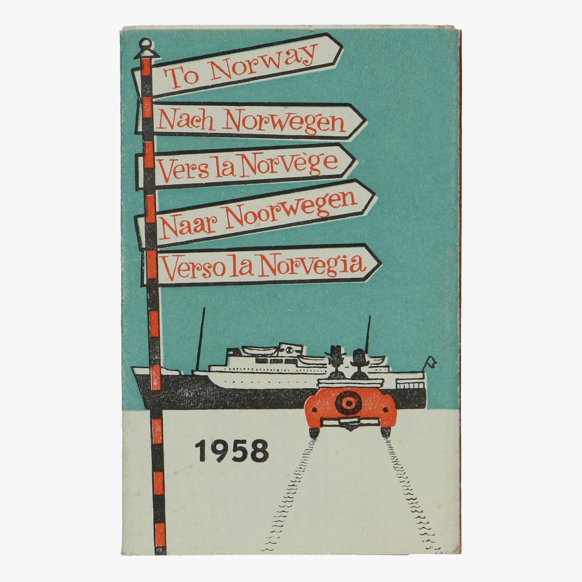 Afbeeldingen van expo 58 naar noorwegen met de boot