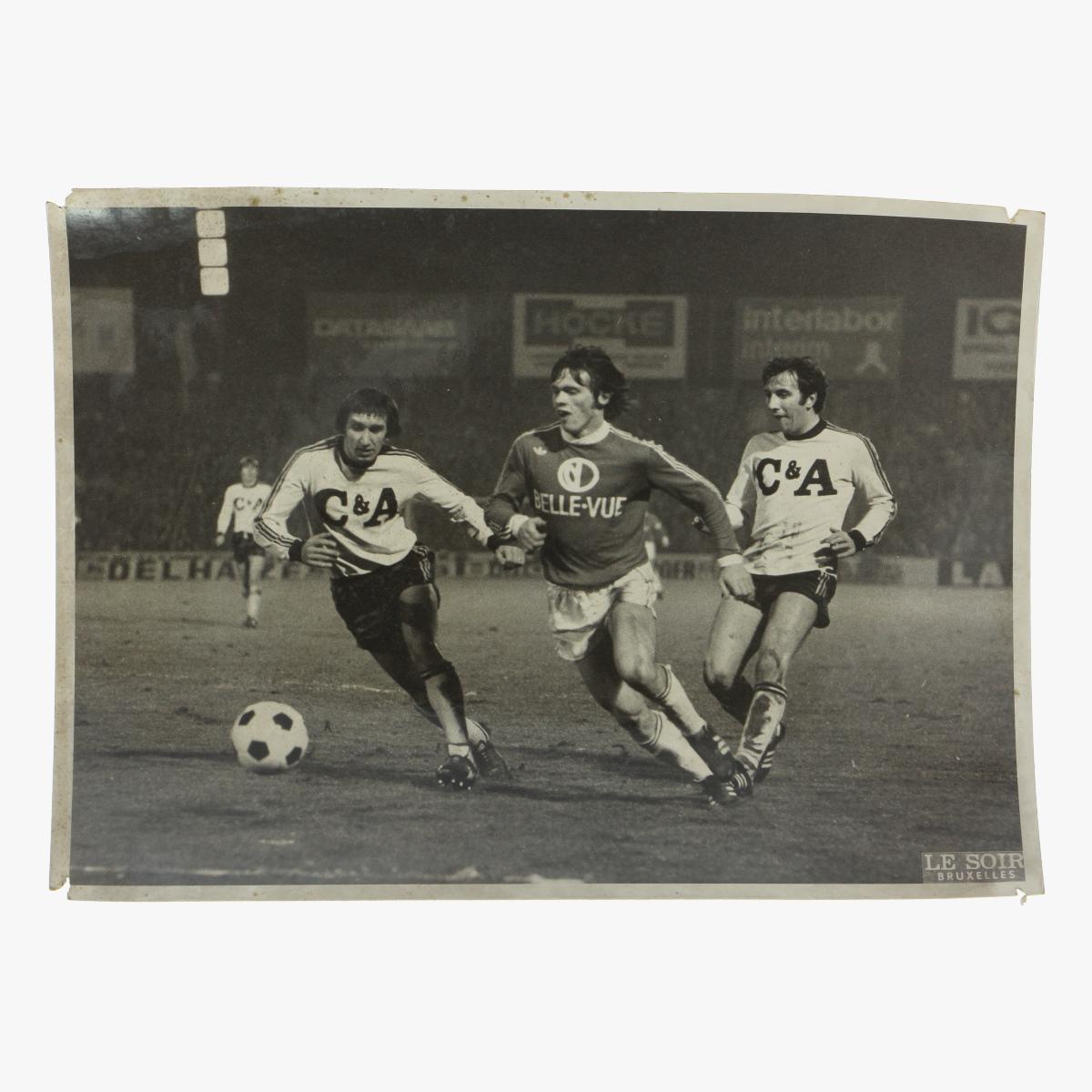 Afbeeldingen van foto anderlecht - beringen 1977 le soir bruxelles