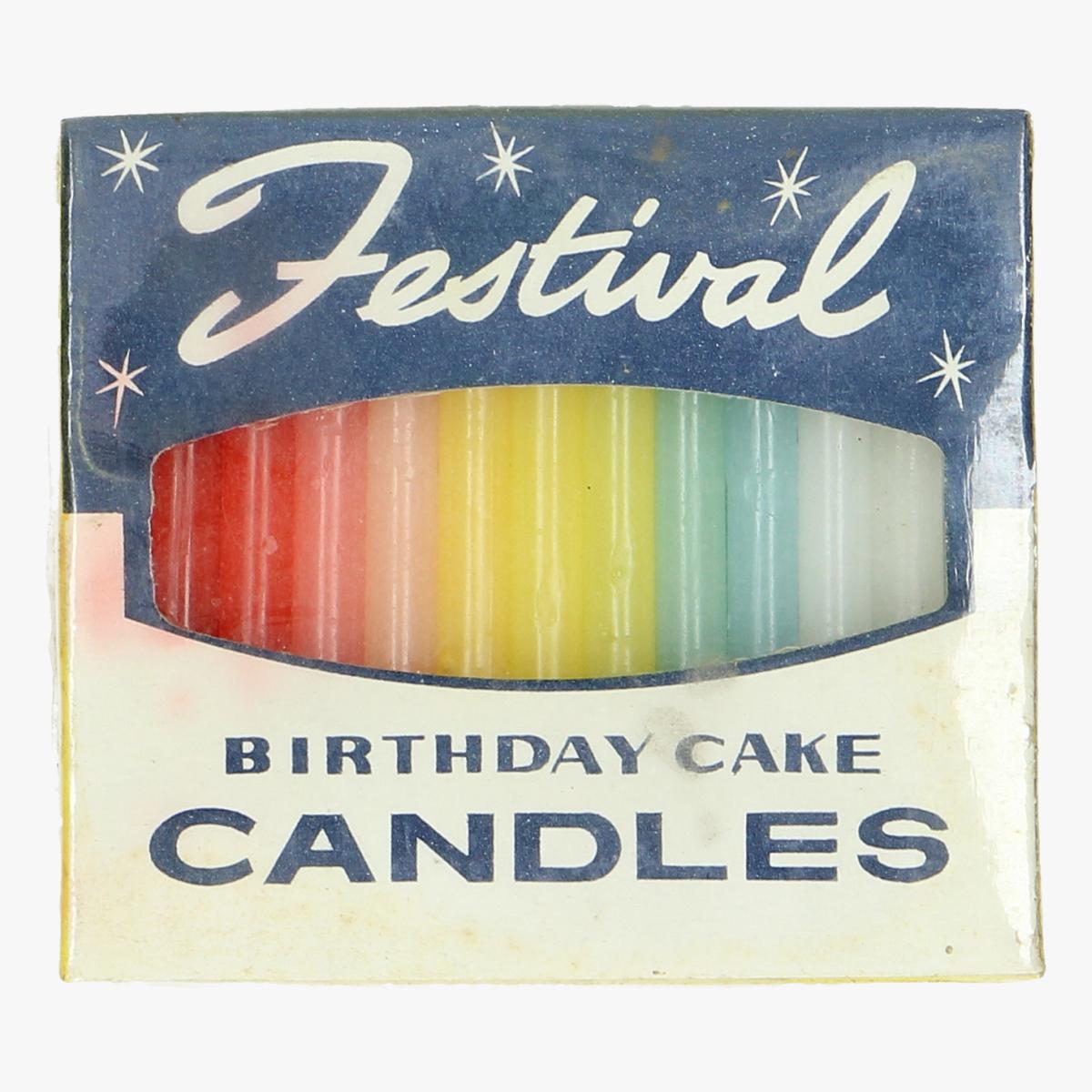 Afbeeldingen van oude festival birthday cake candles 25 st