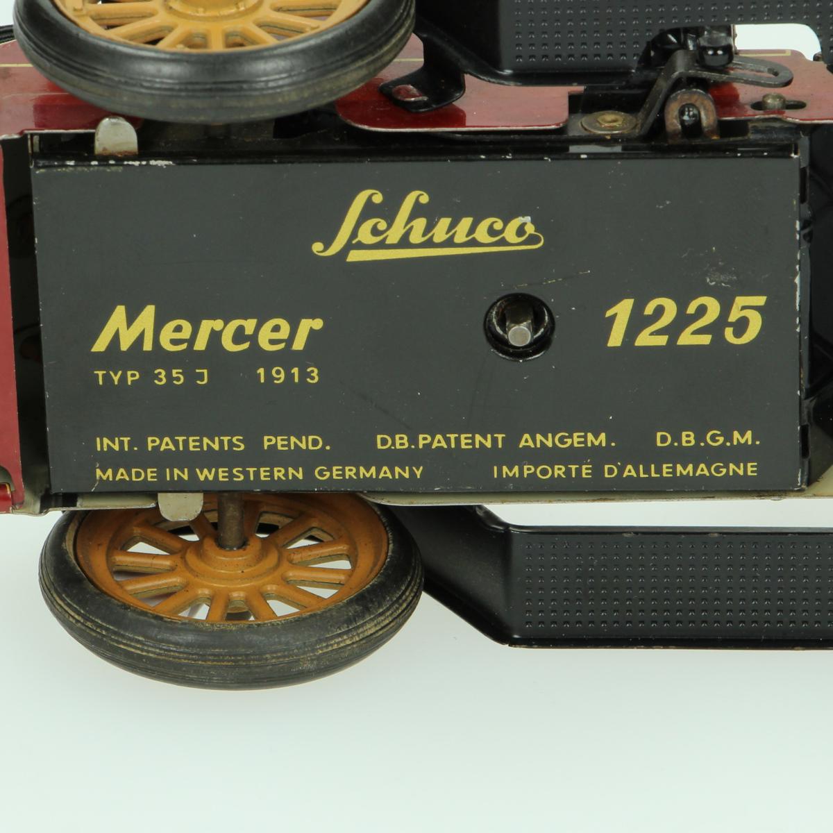 Afbeeldingen van Modelauto Schuco Mercer type 35J 1913