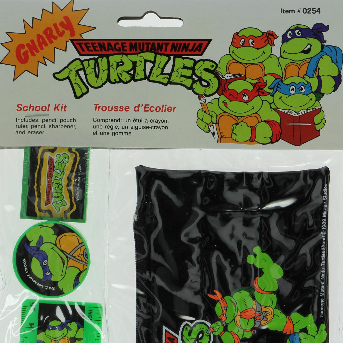 Afbeeldingen van Teenage Mutant Ninja Turtles. Schoolbenodigheden.