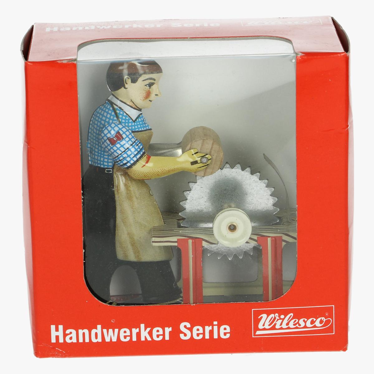 Afbeeldingen van blikken speelgoed handwerk serie wilesco