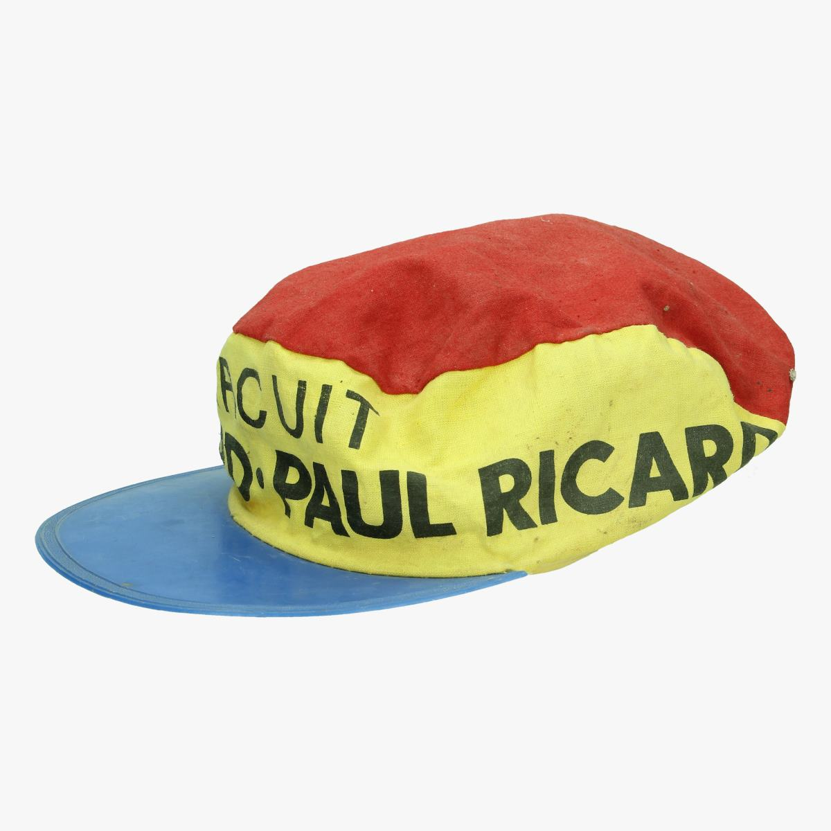 Afbeeldingen van oud wielrenners petje Circuit Paul Ricard