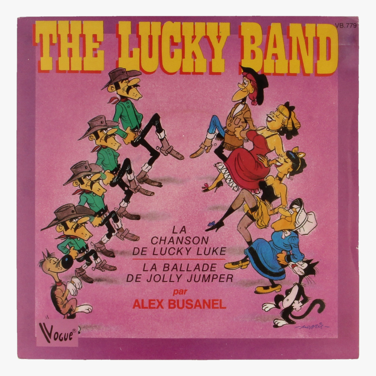 Afbeeldingen van The Lucky Band La chanson de lucky band. La ballade de jolly jumper LP 44 toeren