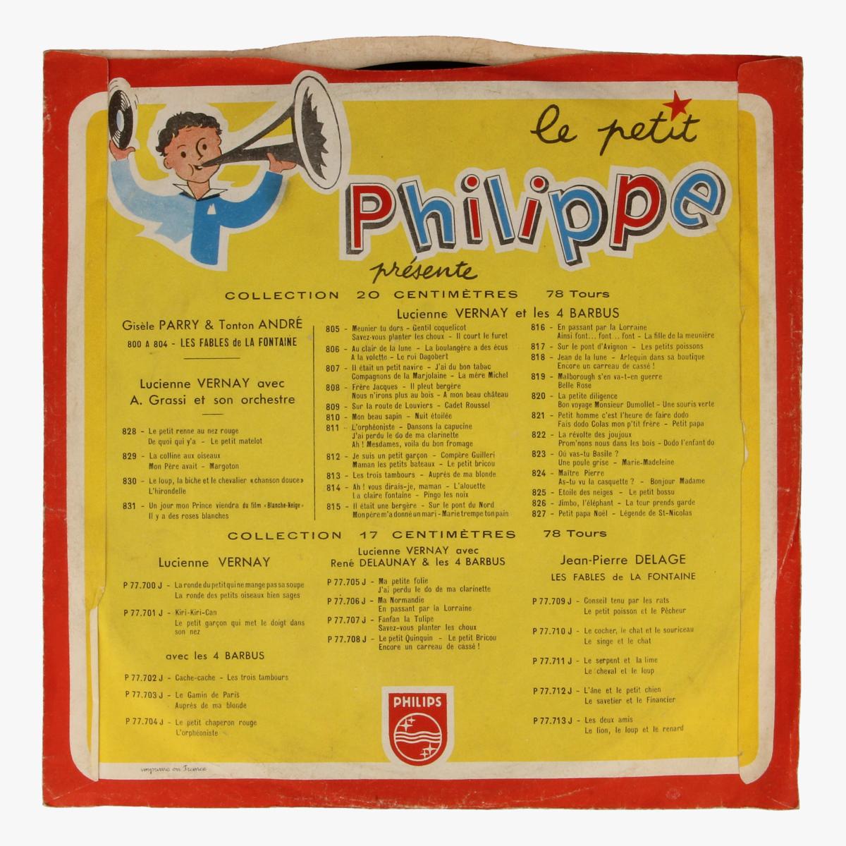 Afbeeldingen van Le petit Philippe LP 78 toeren