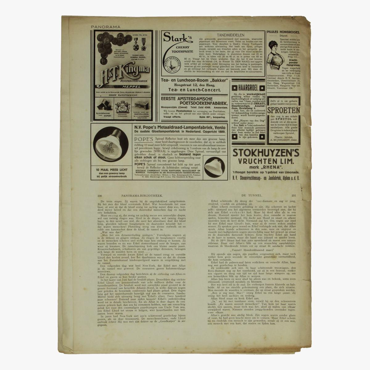 Afbeeldingen van oude weekblad panorama N°42   24 mei 1915
