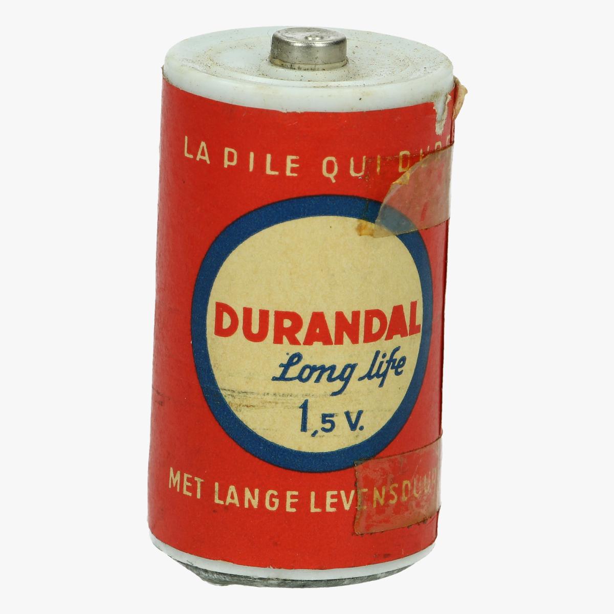 Afbeeldingen van oude batterij durandal long live 1.5v