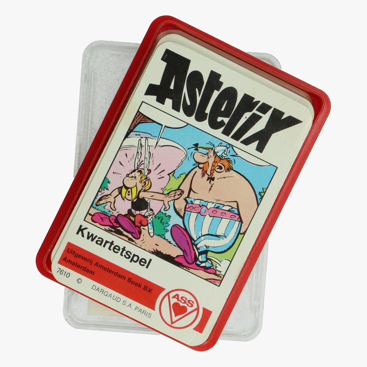 Afbeeldingen van Asterix Kwartetspel Ass
