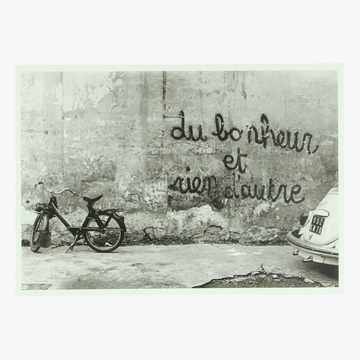 Afbeeldingen van postkaart izis Petit pont . paris 1960 repro