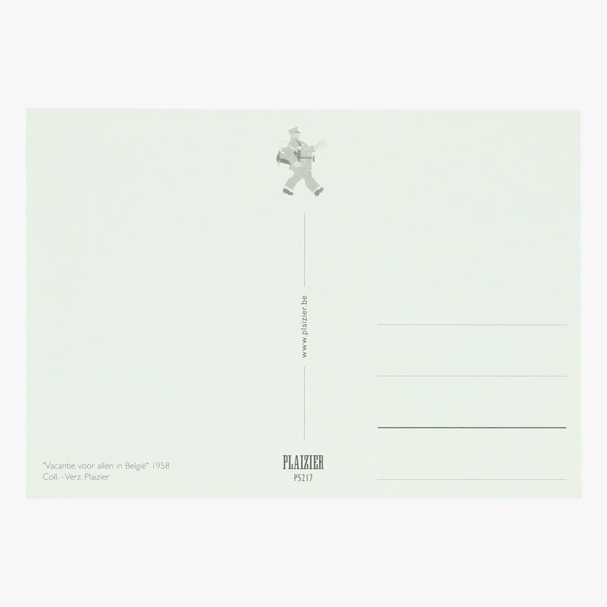 Afbeeldingen van postkaart vacantie voor allen in belgie 1958 repro