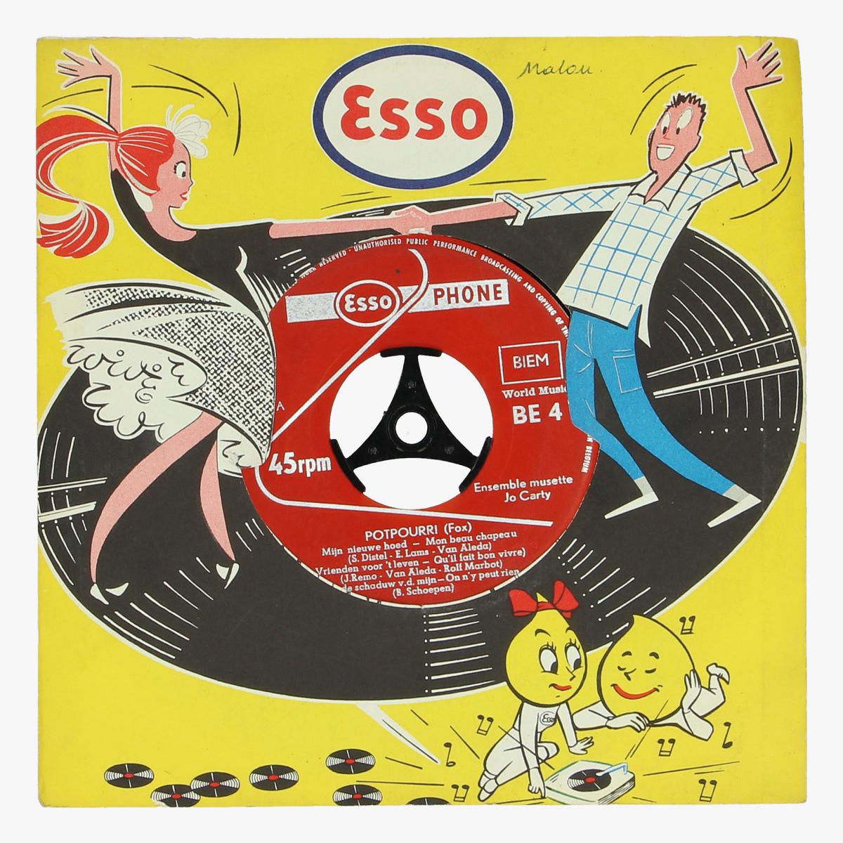 Afbeeldingen van muziek single Esso