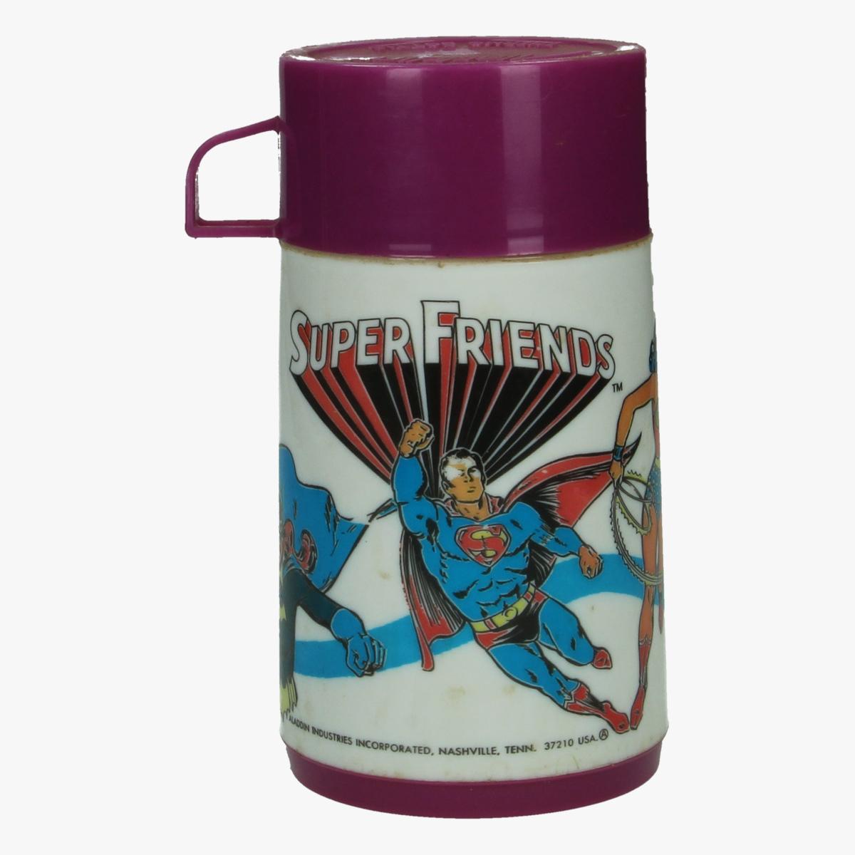Afbeeldingen van thermos super friends 1976