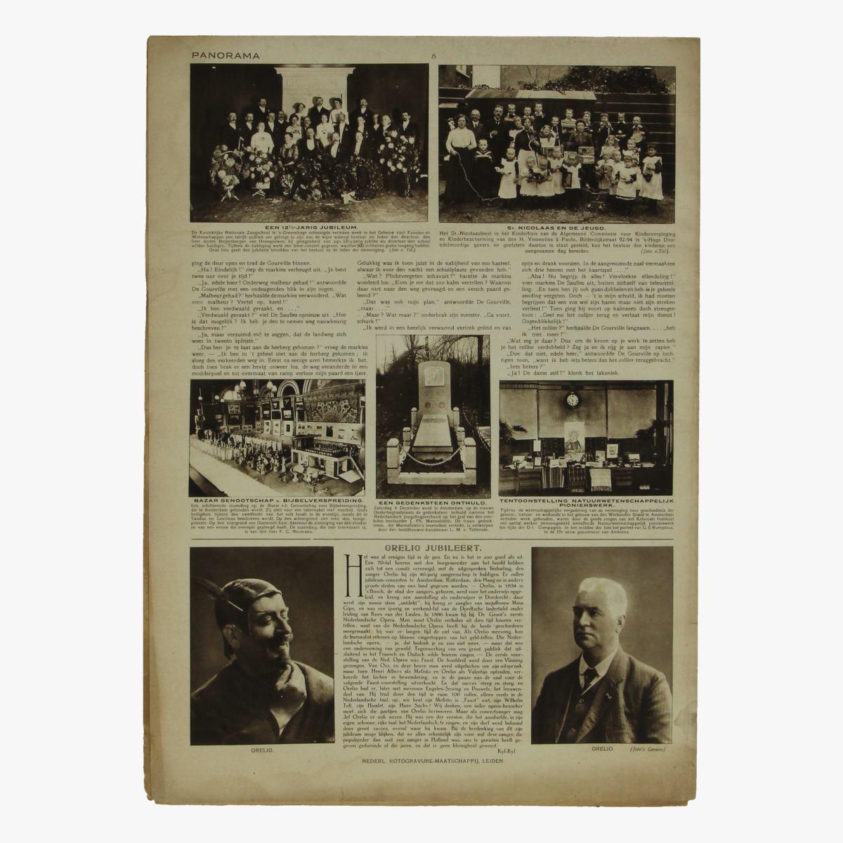 Afbeeldingen van oude weekblad panorama N°99   9 dec 1915