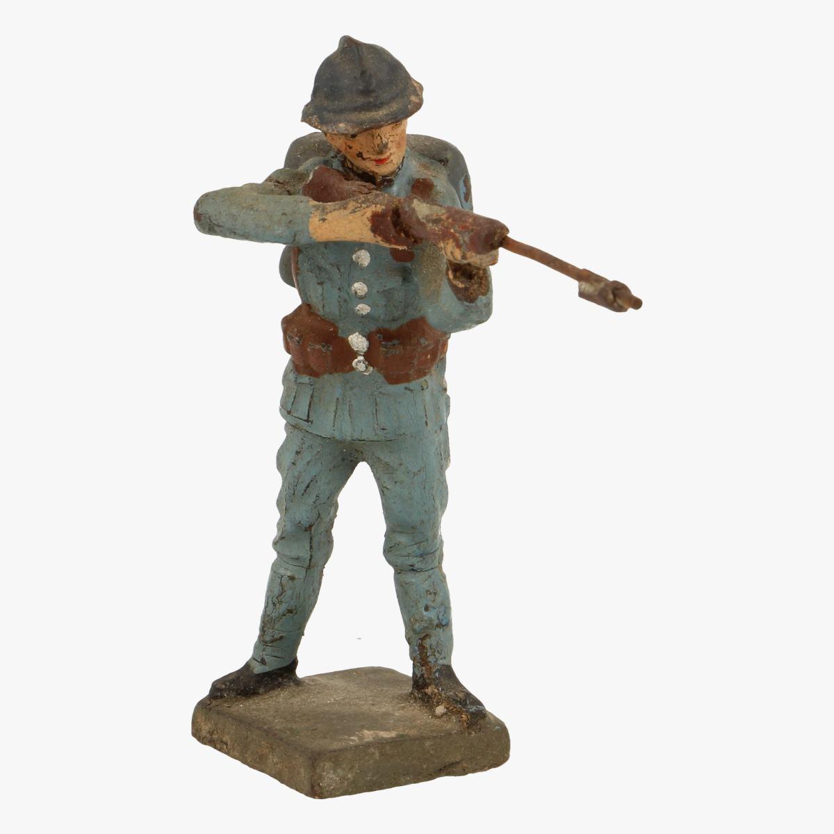 Afbeeldingen van elastolin soldaatjes lineol Germany