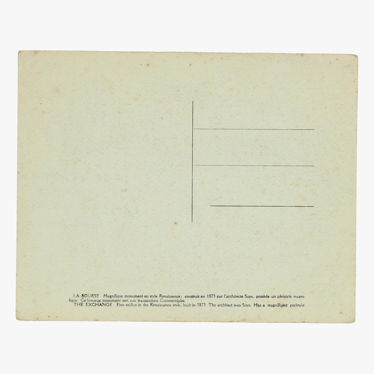 Afbeeldingen van oude postkaart van bruxelles la bourse