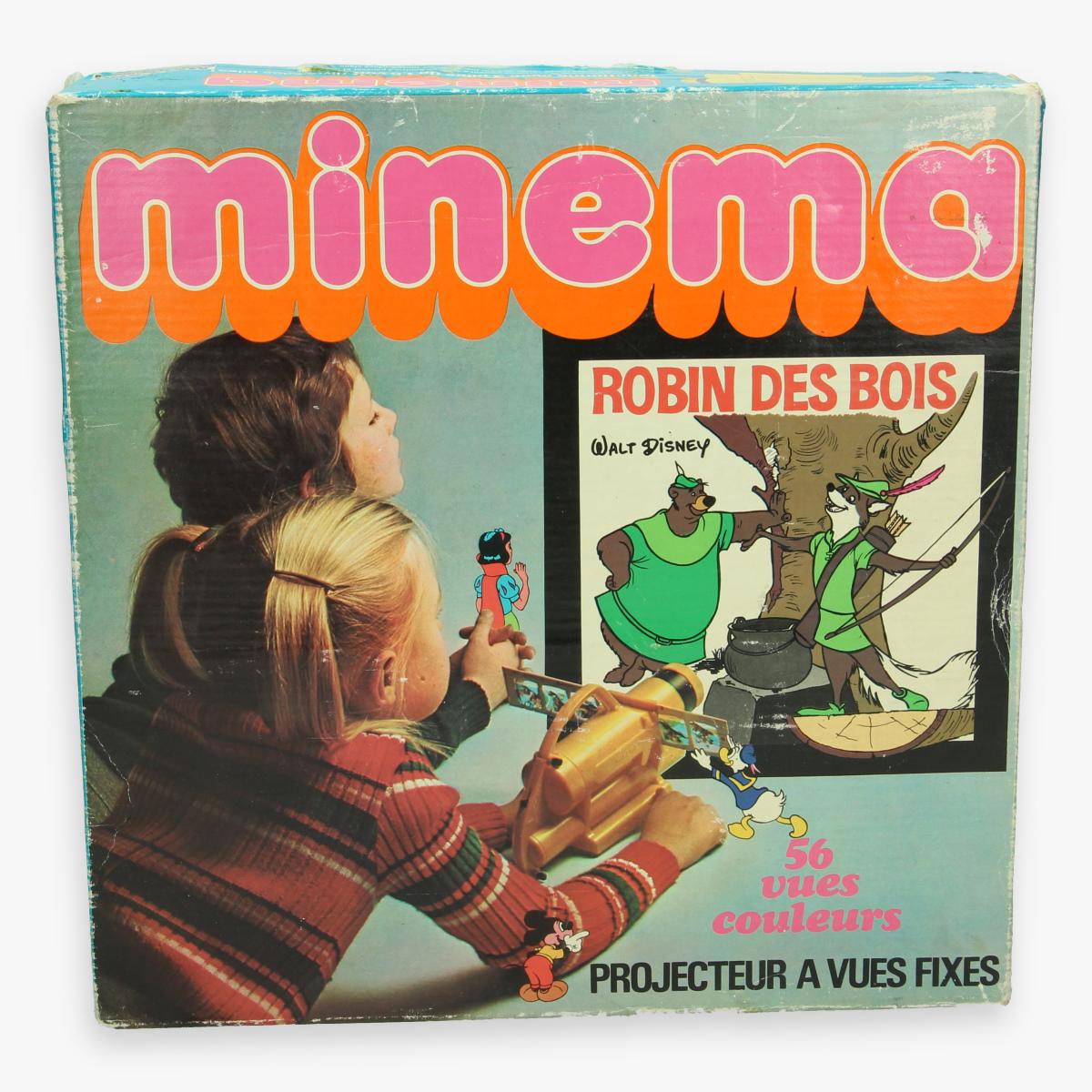 Afbeeldingen van minema projector - robin hood - meccano -kenner