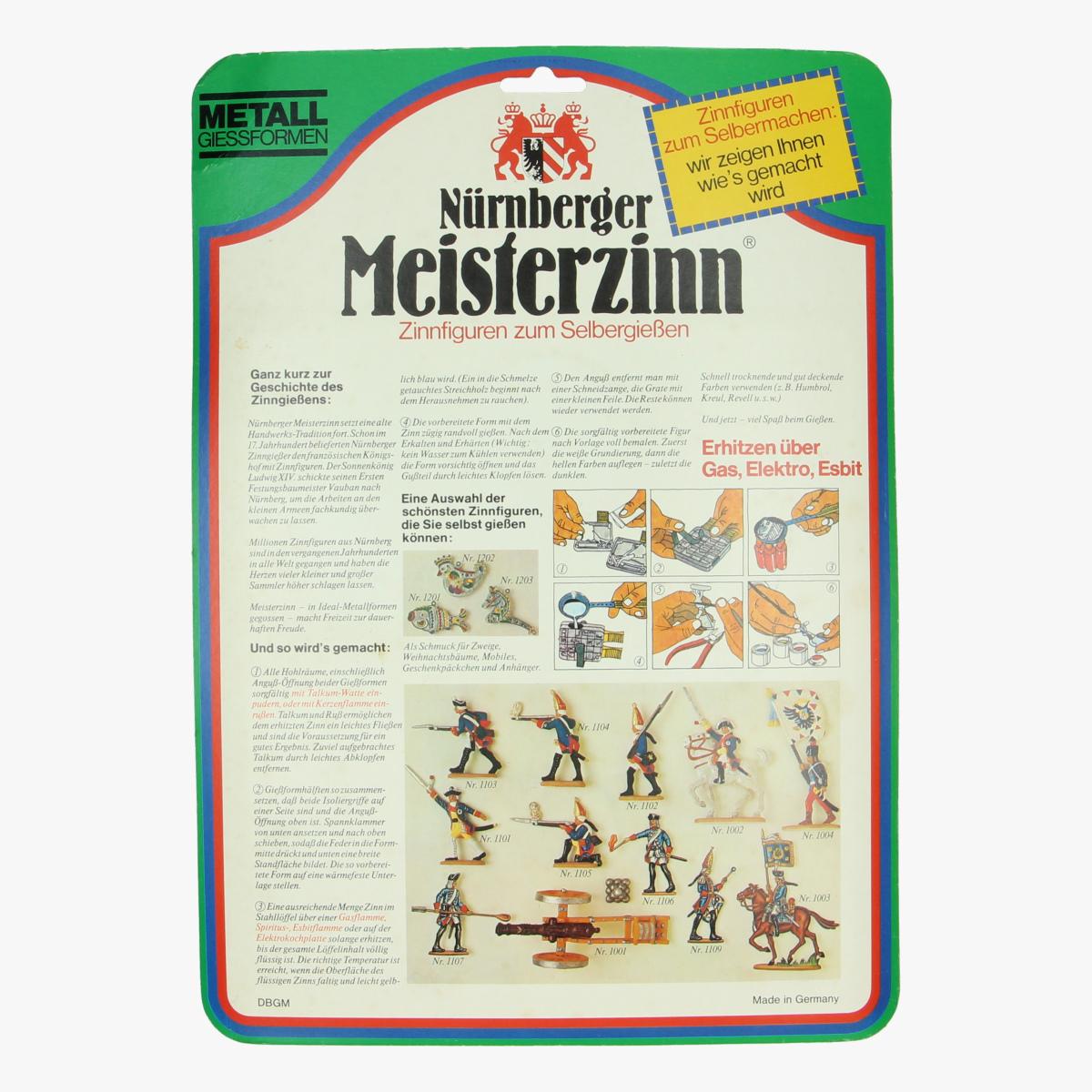 Afbeeldingen van Metalen gietvormen Nürnberger Meisterzinn