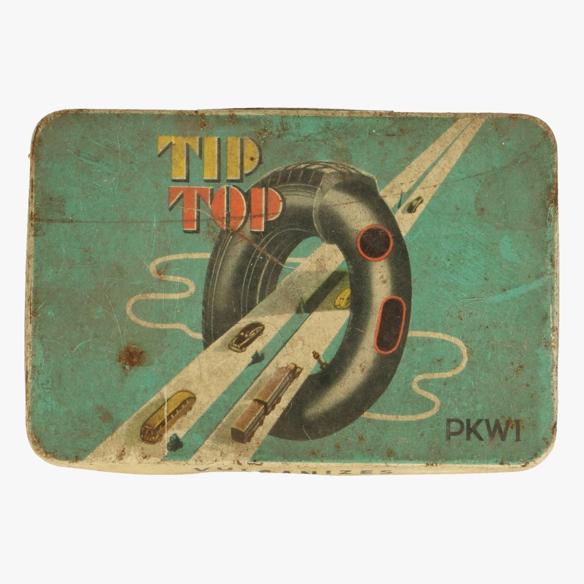 Afbeeldingen van blikken doosje tip top pkwi
