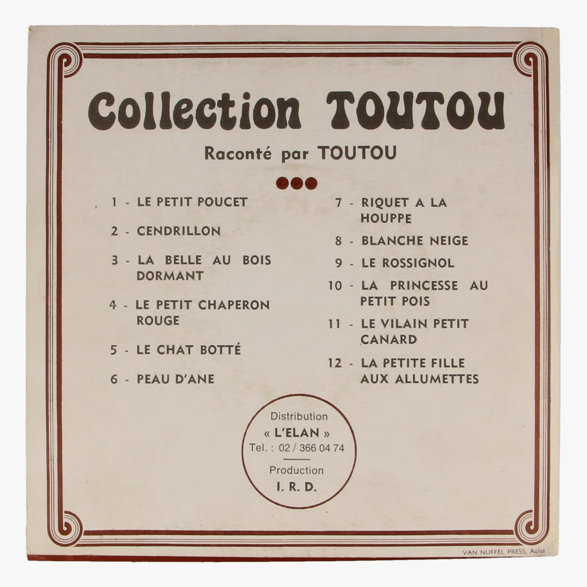 Afbeeldingen van Collection Toutou - le petit charperon Rouge