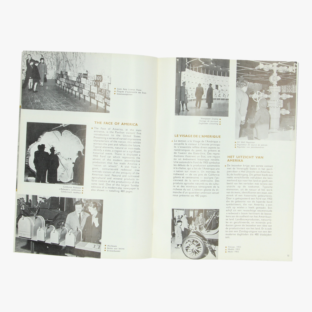 Afbeeldingen van expo 58 official united states guide book brussels world's fair 1958